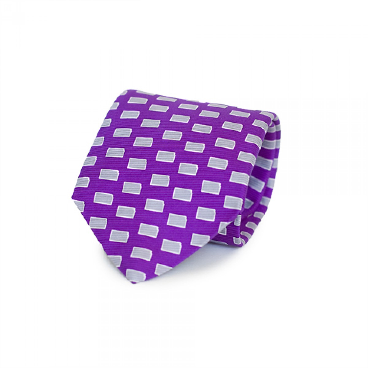 Purple KS Gameday Tie